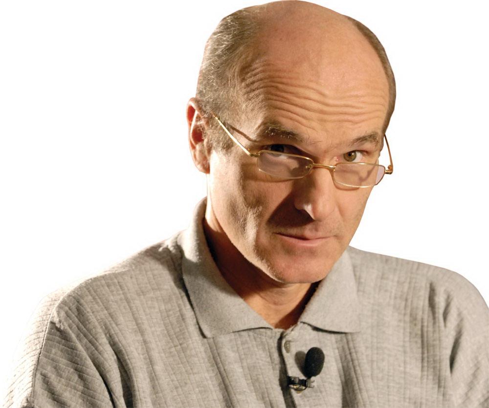 Directorul publicatiei Gandul, Cristian Tudor Popescu, acorda un interviu agentiei MEDIAFAX, miercuri, 25 octombrie 2006. SIMONA DIMITRU / MEDIAFAX FOTO